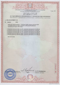Certyfikat zgodności Ukraina